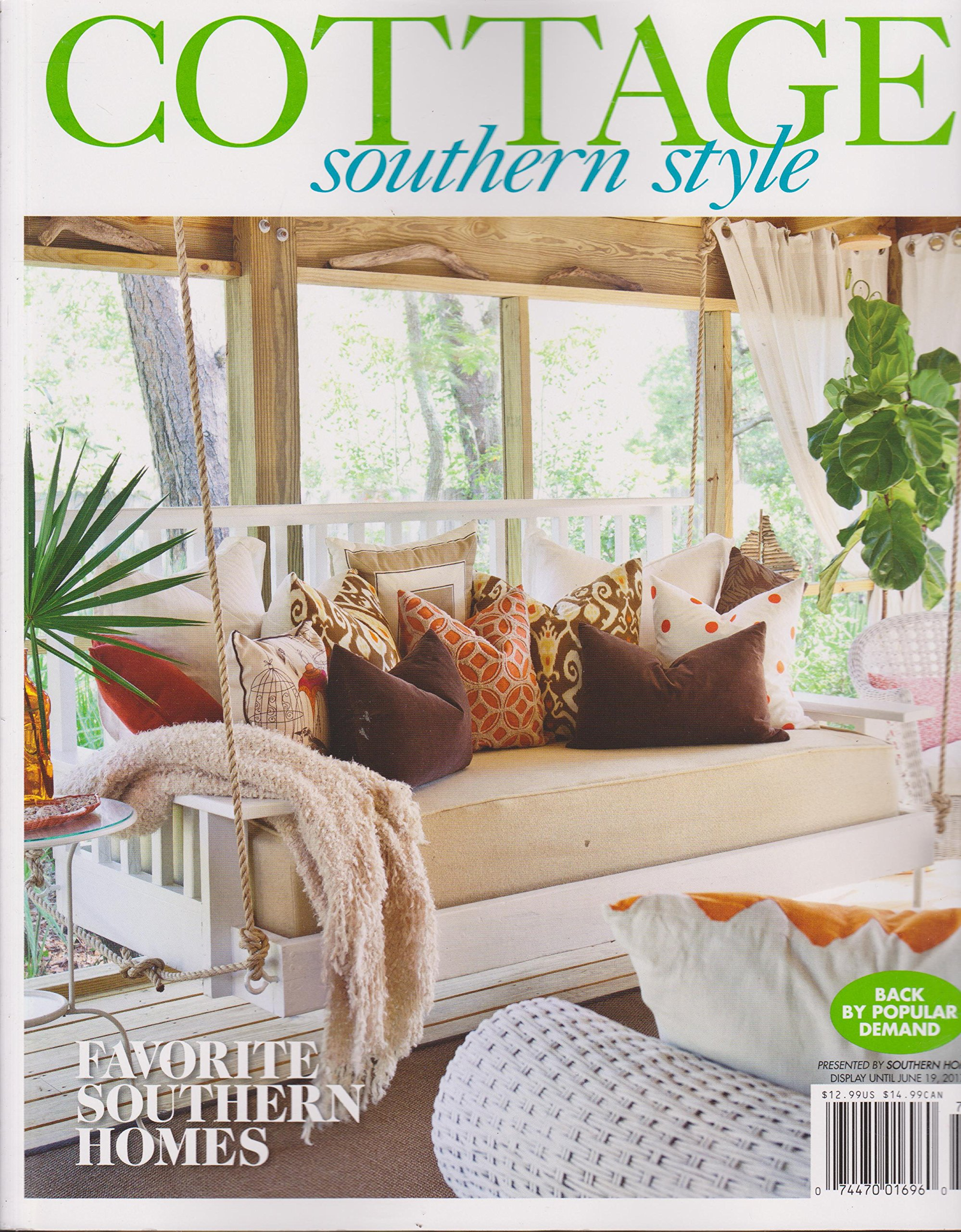 Magnificent Cottage Southern Style Magazine 2017 Amazon Com Books Home Interior And Landscaping Ymoonbapapsignezvosmurscom