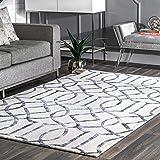 Amazon Com Nuloom Faux Silk Moroccan Wool Rug 9 X 12