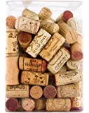 101 Premium Hand Sorted Recycled Wine Corks for Decoration or Crafts Packaged in Beautiful Gift Box