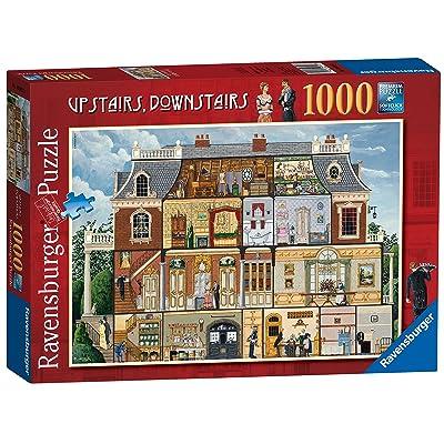 Ravensburger Rompecabezas, diseño de casa de Arriba y Abajo, de 1000 Piezas: Juguetes y juegos