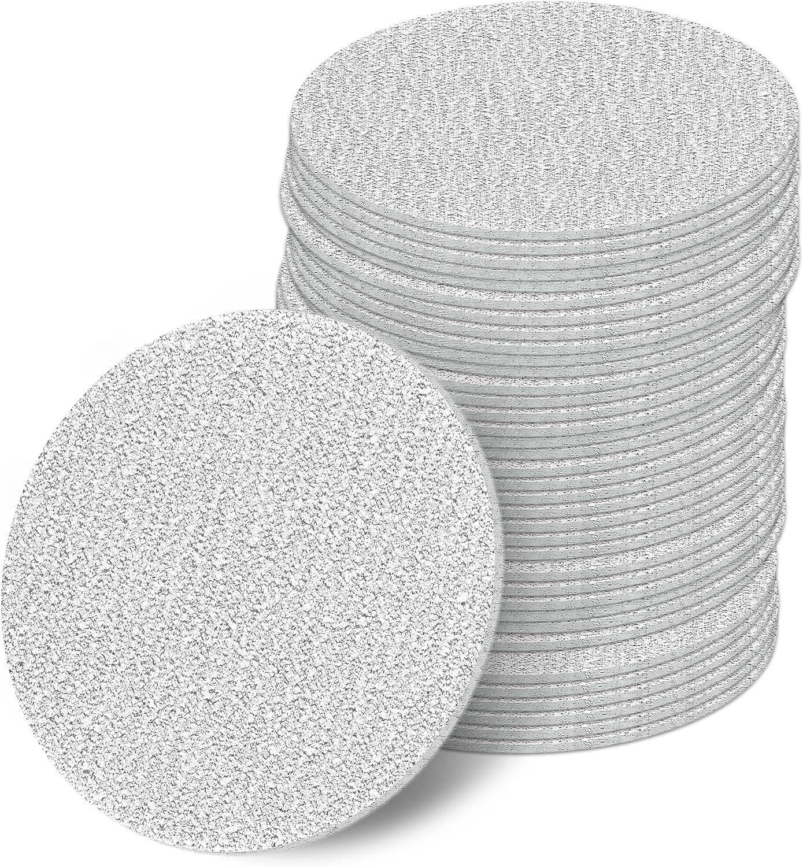 Schleifpapier Set Schleifscheiben Polierpad 75 mm K/örnung 60//80//120//240//320//400 Set mit 20 50 und 100 St/ück Sandpapier kletthaftend f/ür Poliermaschine oder Schleifmaschine 100, P60 K/örnung