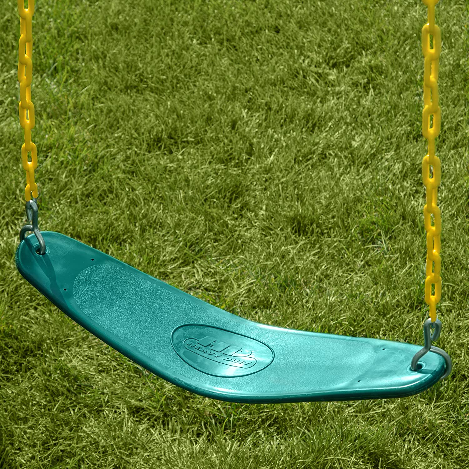 Swing-N-Slide WS 5106 Two Extreme Duty Green Swing Seats with a Comfy-N-Secure Toddler Coaster Swing Refresher Bundle Green