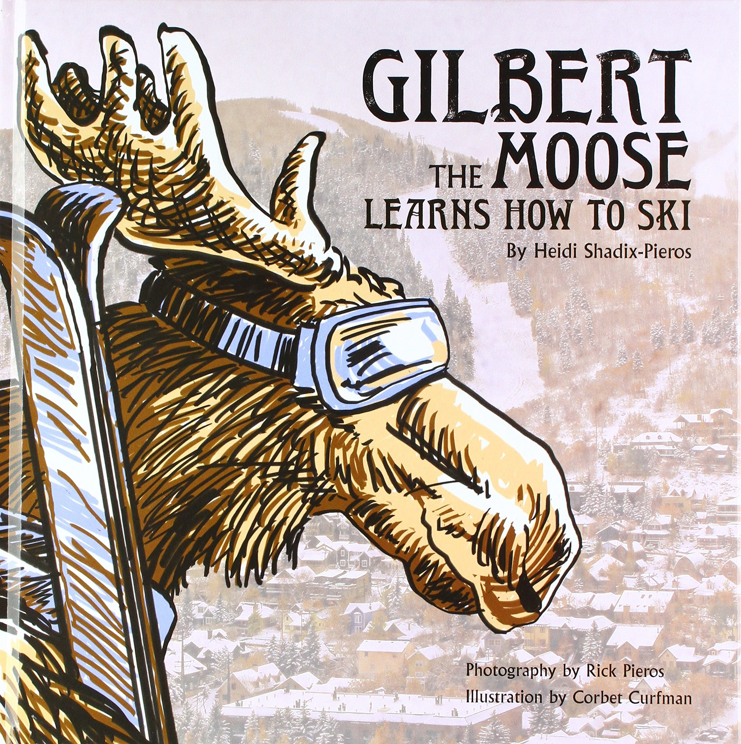 Gilbert the Moose Learns How to Ski by Rick Pieros Photography (Image #1)
