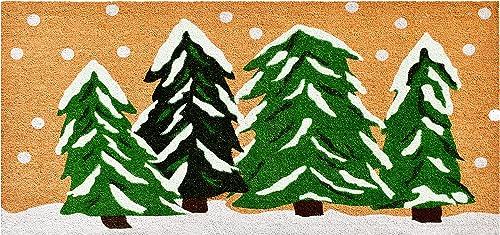Calloway Mills 122252448 Winter Wonderland Doormat, 24 x 48 , Multicolor