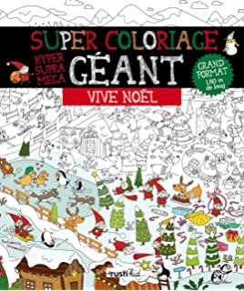 Poster Geant Noel A Colorier Boite 20 Novembre 2015 Anton Poitier