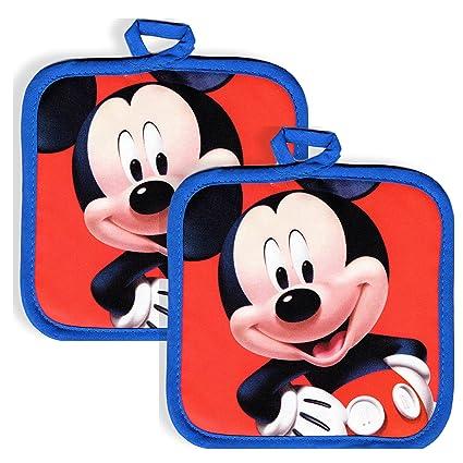 Disney Mickey Mouse Kitchen Set 2 Mickey Mouse Pot Holders
