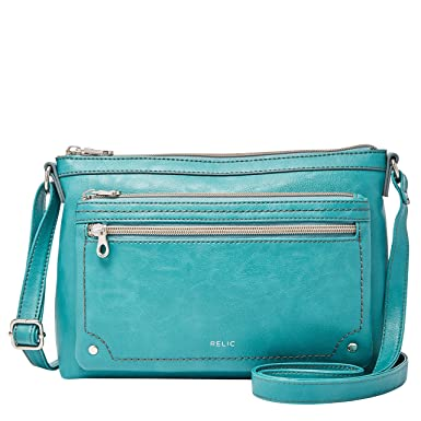 c9bfe77ebebe Image Unavailable. Image not available for. Color: Relic by Fossil Women's  Evie Crossbody Handbag Purse