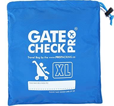 Gate Check PRO XL Double BuggyPram /& Pushchair Travel BagUltra Durable