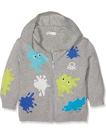 2956fdfea United Colors of Benetton Jacket W Hood L S suéter para Bebés
