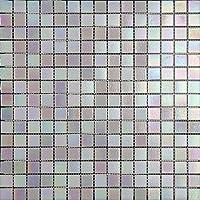 Mosaico de Vidrio en Malla DEC-74291AXT013, Blanco, 4
