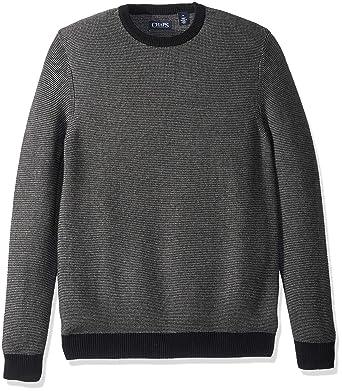 42ce997af267 Chaps Men s Classic Fit Cotton Crewneck Sweater