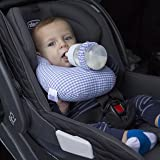 Baby Bottle Propper Great for Feeding Twins & Multiples - Hands Free Feeding- Easy to use - 100% Cotton - Washable Blue Color- The Best Hand Free Baby Bottle Products