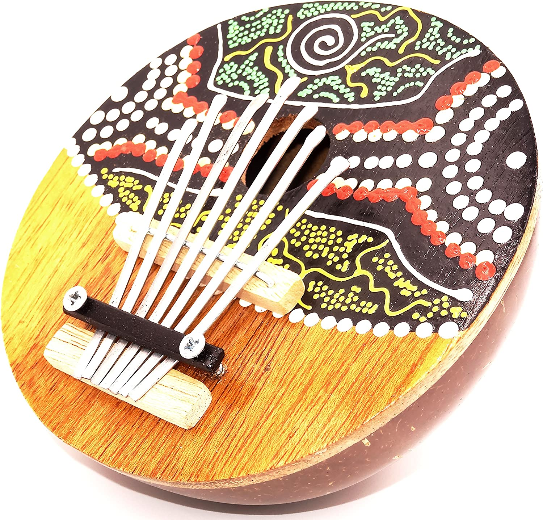 Karimba: instrumento musical aborigen de coco: guitarra y piano ...