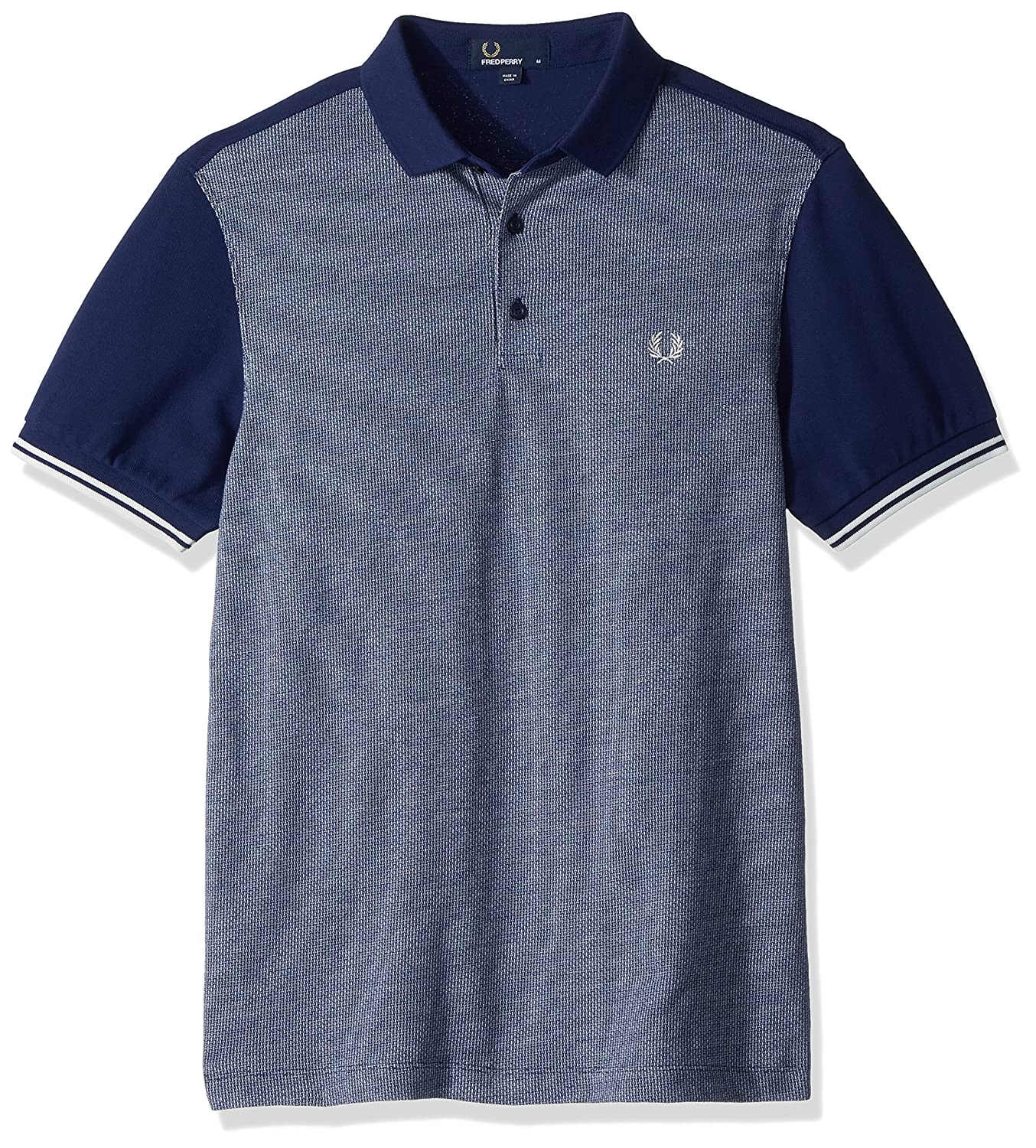 Fred Perry Polo Panel Jacquard: Amazon.es: Ropa y accesorios