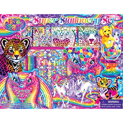 Lisa Frank Coloring and Activity Box Kit Bendon AS42325: Toys & Games