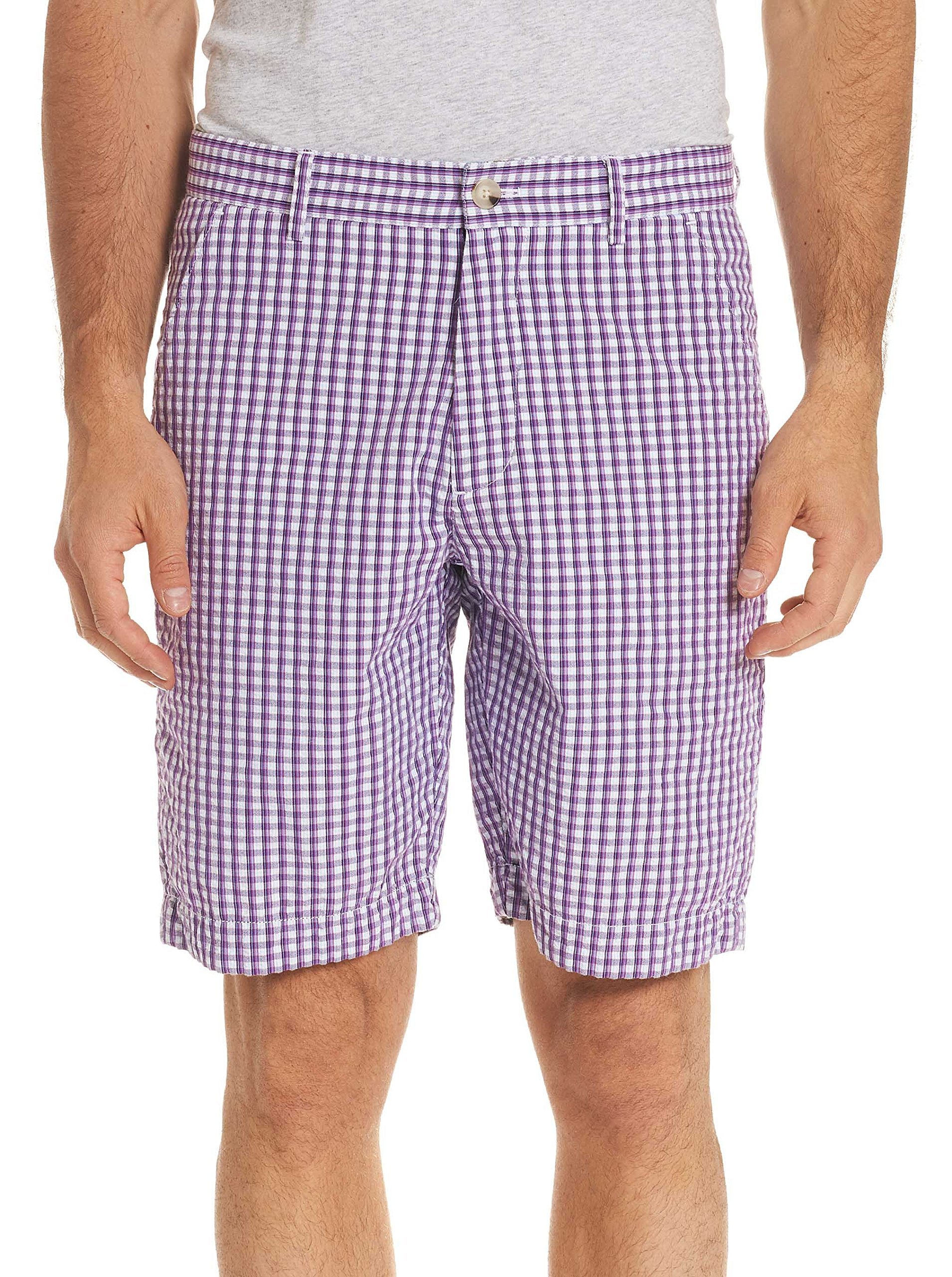 Robert Graham Melendez Shorts (Red, 36)