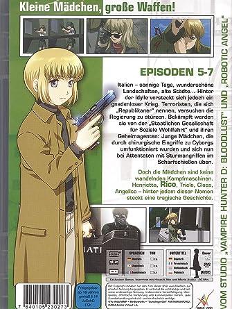 Amazon com: Gunslinger Girl, Vol  2, Episode 5-7: Movies & TV