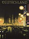 TRAVEL TOURISM BERLIN GERMANY DEUTSCHLAND VINTAGE ART ADVERTISING POSTER 2312PY
