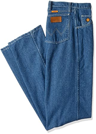 044facd9f9ed7 Amazon.com: Wrangler Size Men's Flame Resistant Cool Vantage Regular Fit  Jean - Tall: Clothing