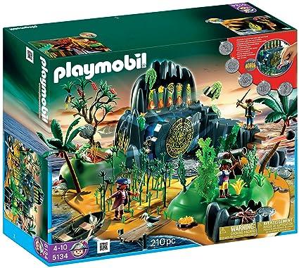 Amazon Playmobil Pirate Adventure Island Toys Games