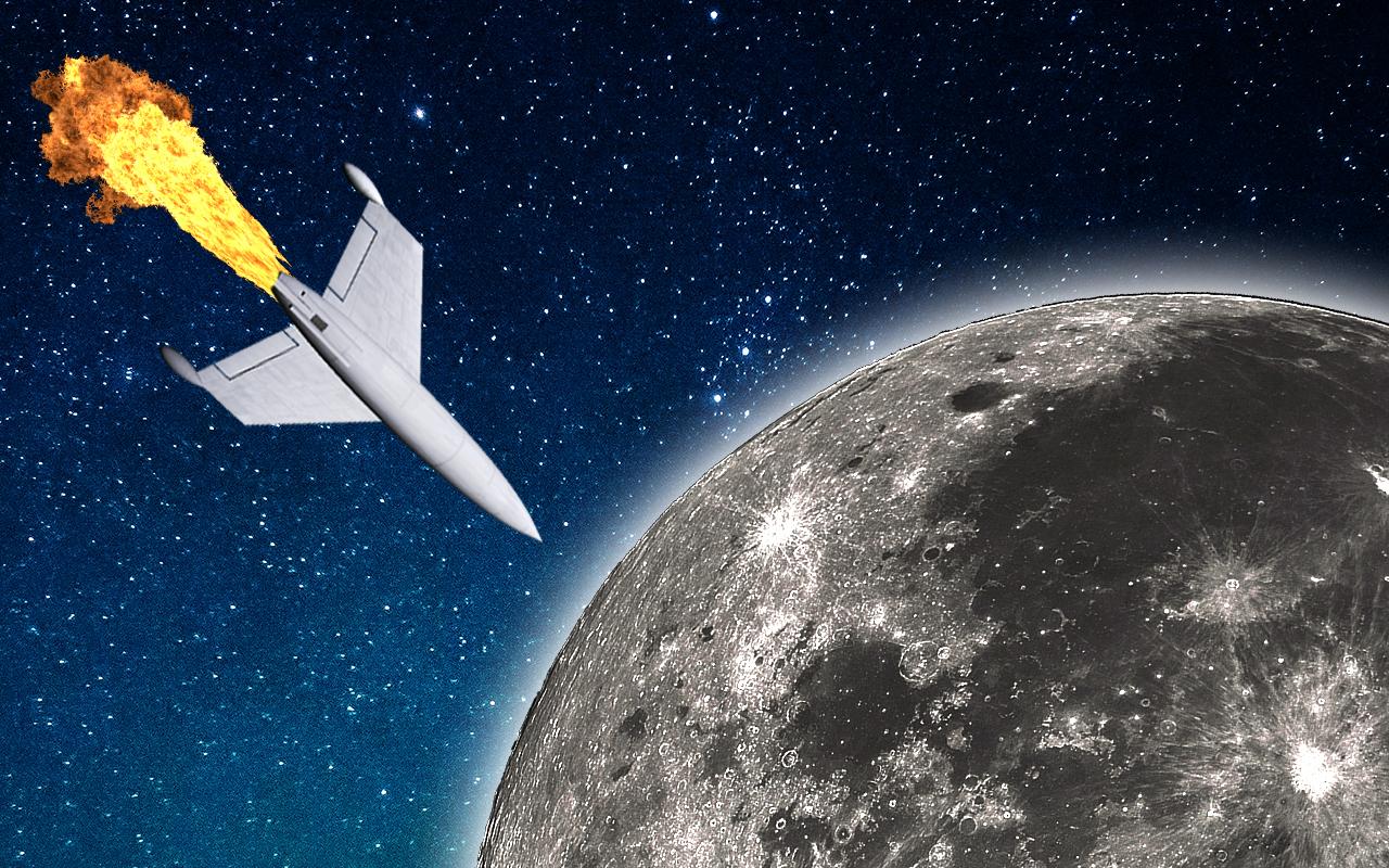 batalla en la luna: juegos de naves espaciales simulador