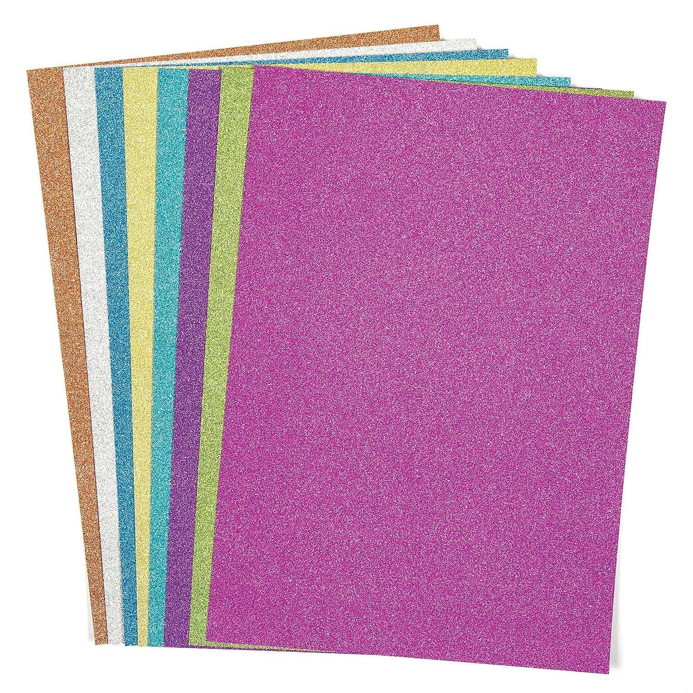 Artigianato E Decorazioni. Confezione Da 100 Baker Ross AX392 Confezione Di Carta E Cartoncino Colori Autunnali Materiale Artistico Creativo Per Bambini