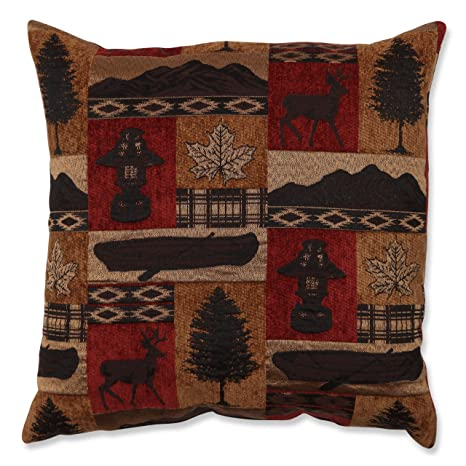 Amazon.com: Almohada perfecto Lodge Throw Pillow, 18-Inch ...