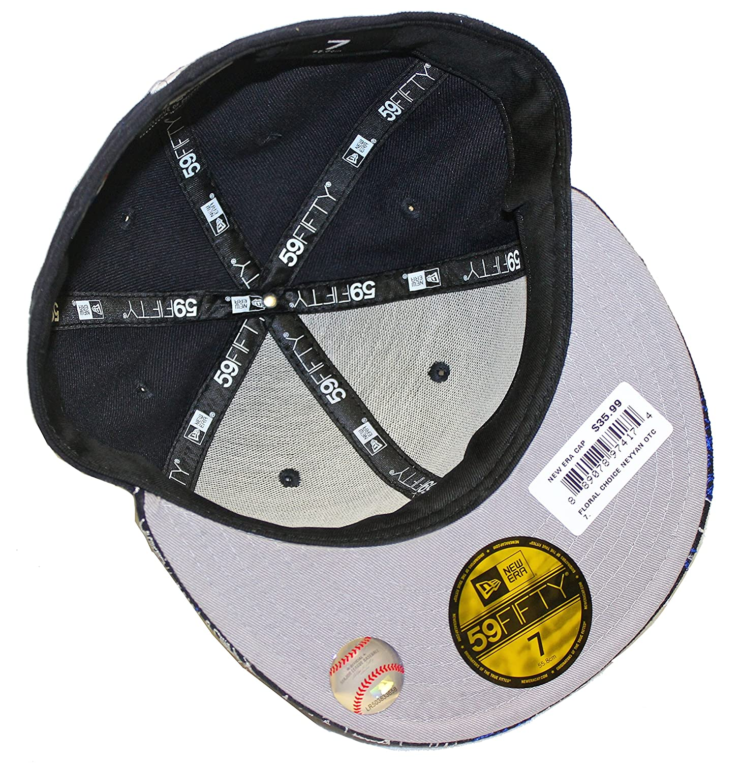 a3537815e3a New Era Floral Choice New York Yankees Navy Fitted Cap at Amazon Men s  Clothing store