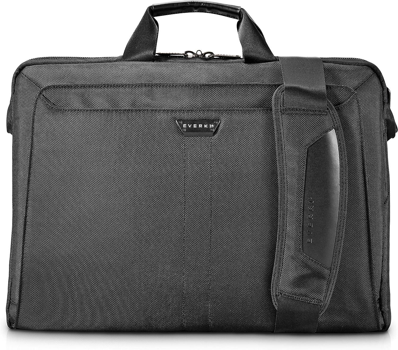 Everki Lunar Laptop Bag - Briefcase, Fits up to 18.4-Inch (EKB417BK18),Black