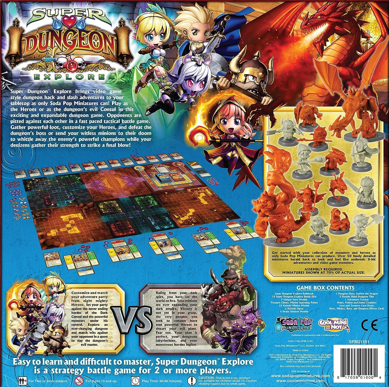Amazon Com Super Dungeon Explore Toys Games