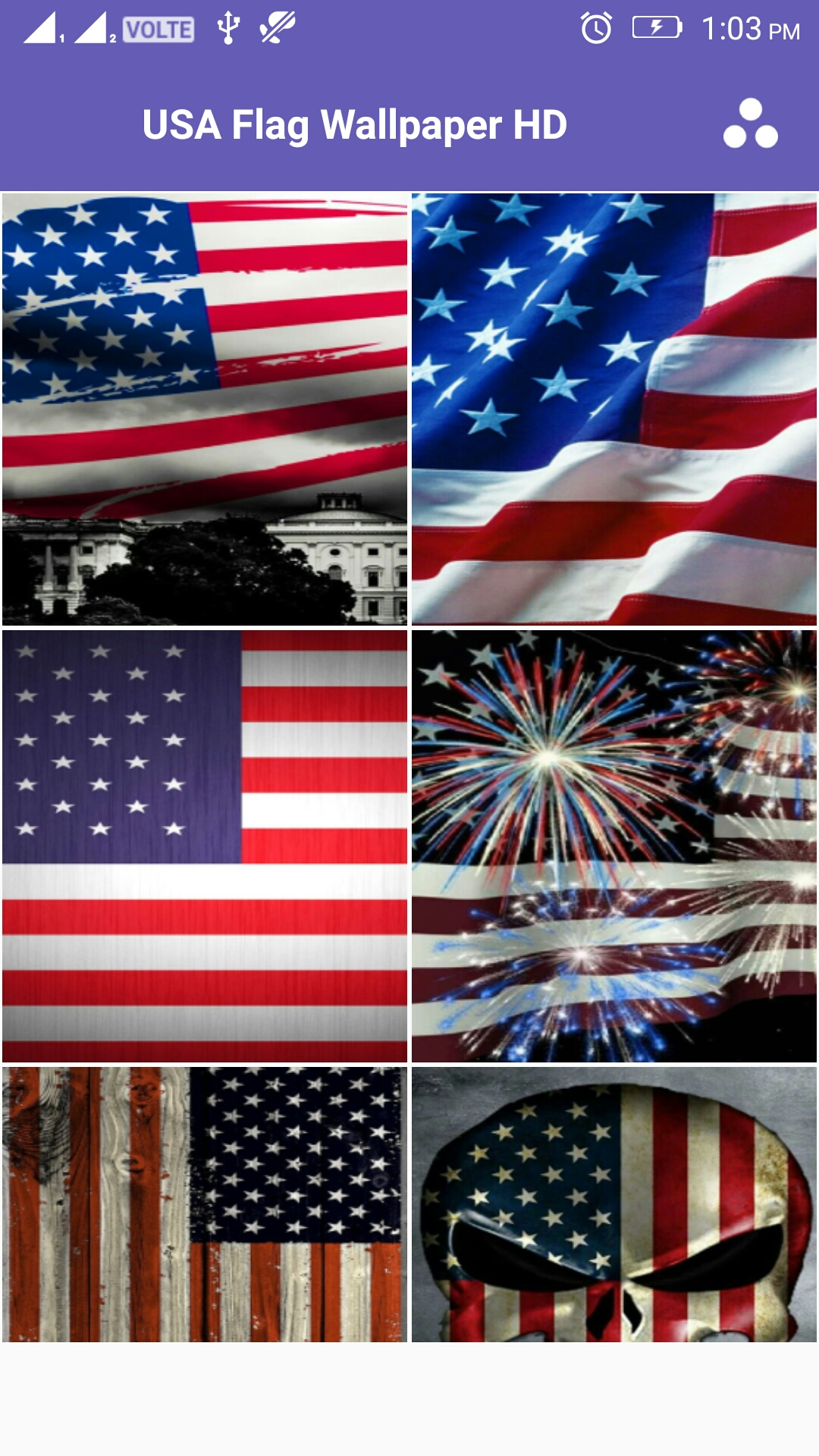 Usa Flag 4k Wallpaper Amazones Appstore Para Android