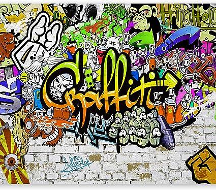 murando Carta da parati 250x175 cm Fotomurali in TNT Murale alla moda Decorazione da Muro XXL Poster Gigante Design Carta per pareti Mappa del Mondo Continente k-A-0108-a-a