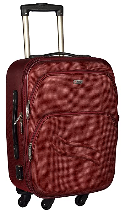 Trolley Bag Polyester Matty 50 cms Red Softsided Cabin Bag  TTB PANDA20 RED  Luggage