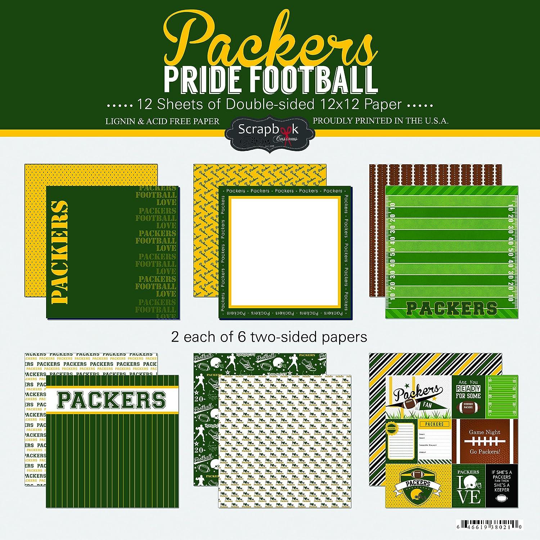 Scrapbook Customs Packers Pride Football Kit Inc. 38021