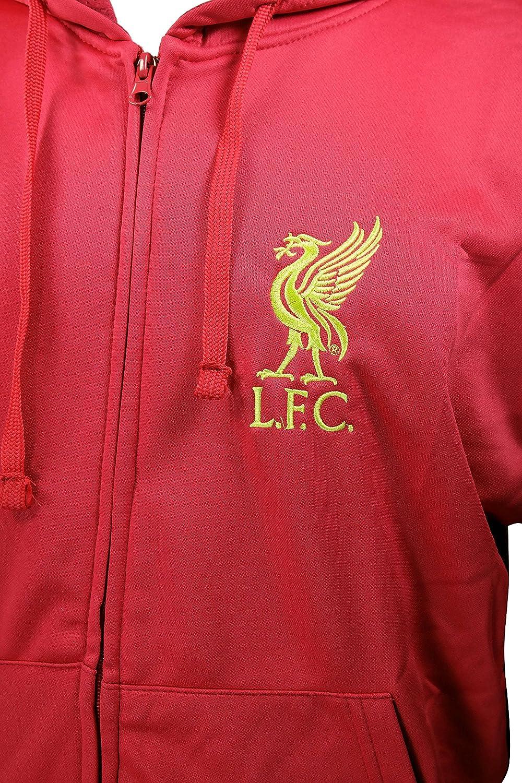 Amazon.com: Liverpool F.C. – Cremallera frontal chamarra de ...
