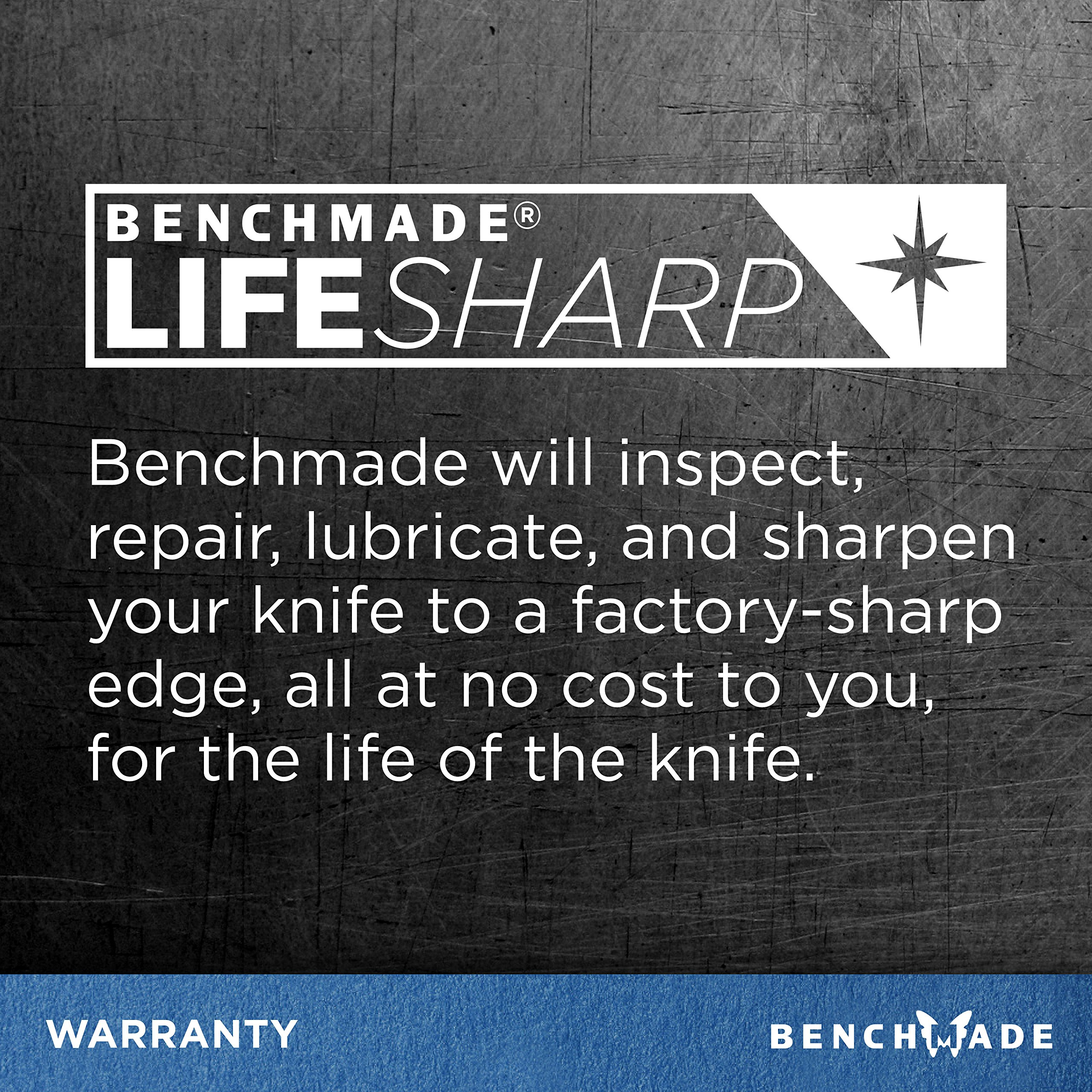Benchmade - Tactical Triage 917 Manual Open Folding Knife with Glass Breaker and Rescue Hook Made in USA, Drop-Point Blade, Plain Edge, Satin Finish, Black Handle by Benchmade (Image #6)