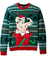 Blizzard Bay Men's Gift Of Gains Crew Neck Ugly Xmas
