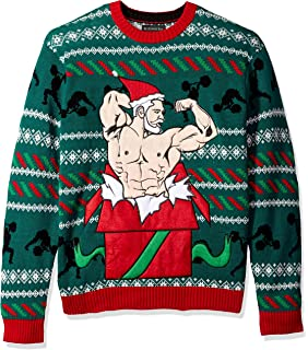 Blizzard Bay Men S Xmas Fitness Ugly Christmas Sweater At Amazon