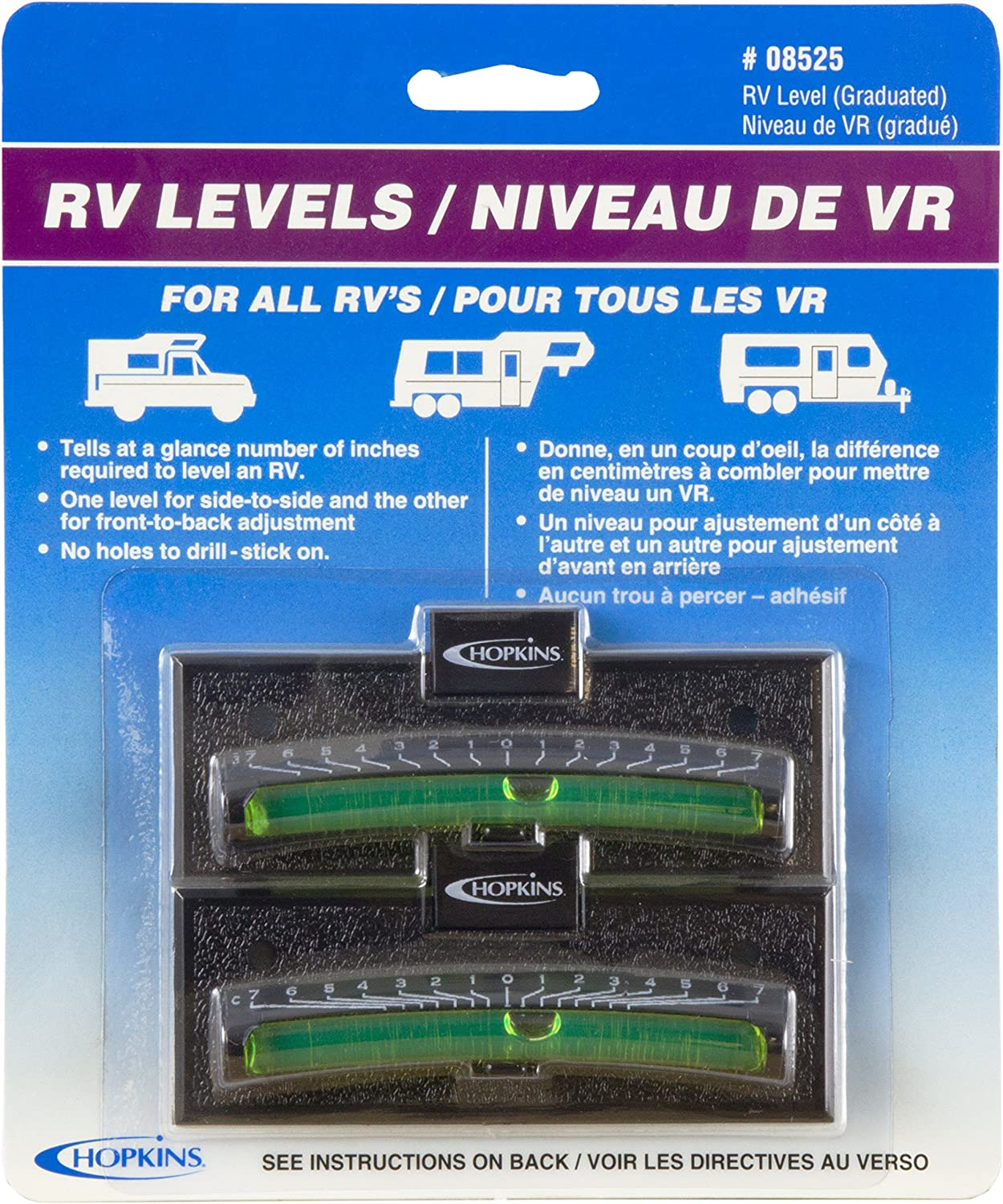 Rv Leveling System Bubbles Tool Camper Travel Trailer