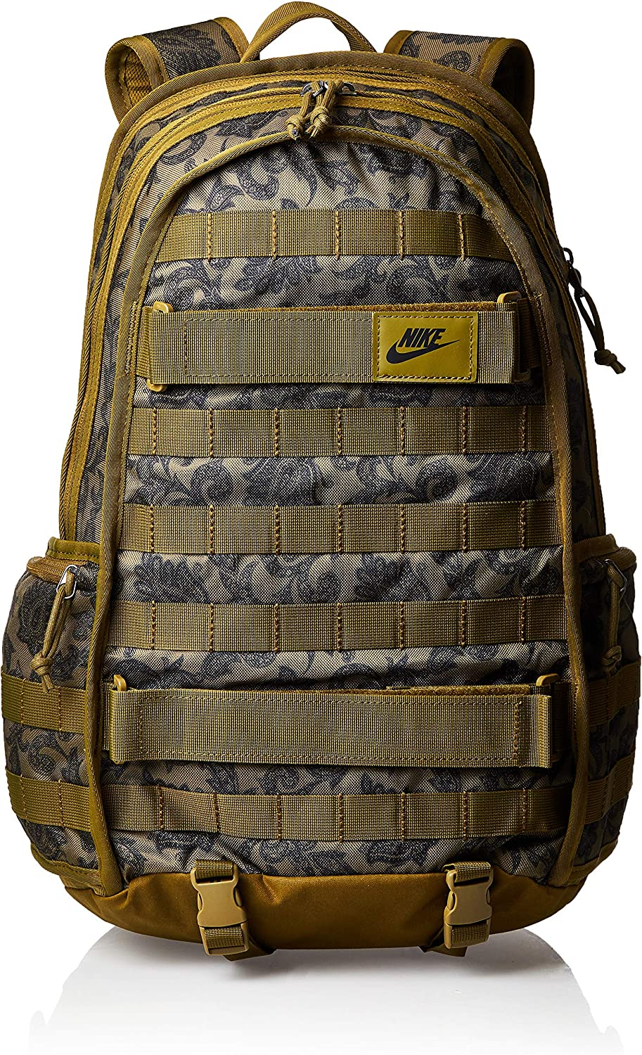 Nike Sportswear RPM Printed Backpack Olive Flak Black