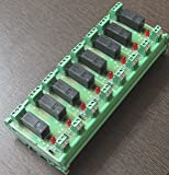 Omron Relay Card/ Omron Relay Module - 24V 1CO 8 channel 5A ; 24 Volt 1 changeover 8 channel 5 Ampere, Din Rail Mounting Relay Module