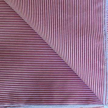 Tela por metros. Tejido VICHY de Rayas Finas (2mm). Color a Elegir.