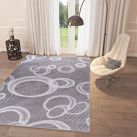 Black And White Grey Bubbles Area Rug 2 X 7 3 Runner Casual Modern Rug For Dining Living Room Bedroom Easy Clean Carpet