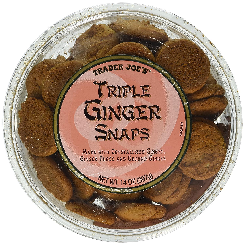 Trader Joe's Triple Ginger Snap cookies 14oz (2pk)