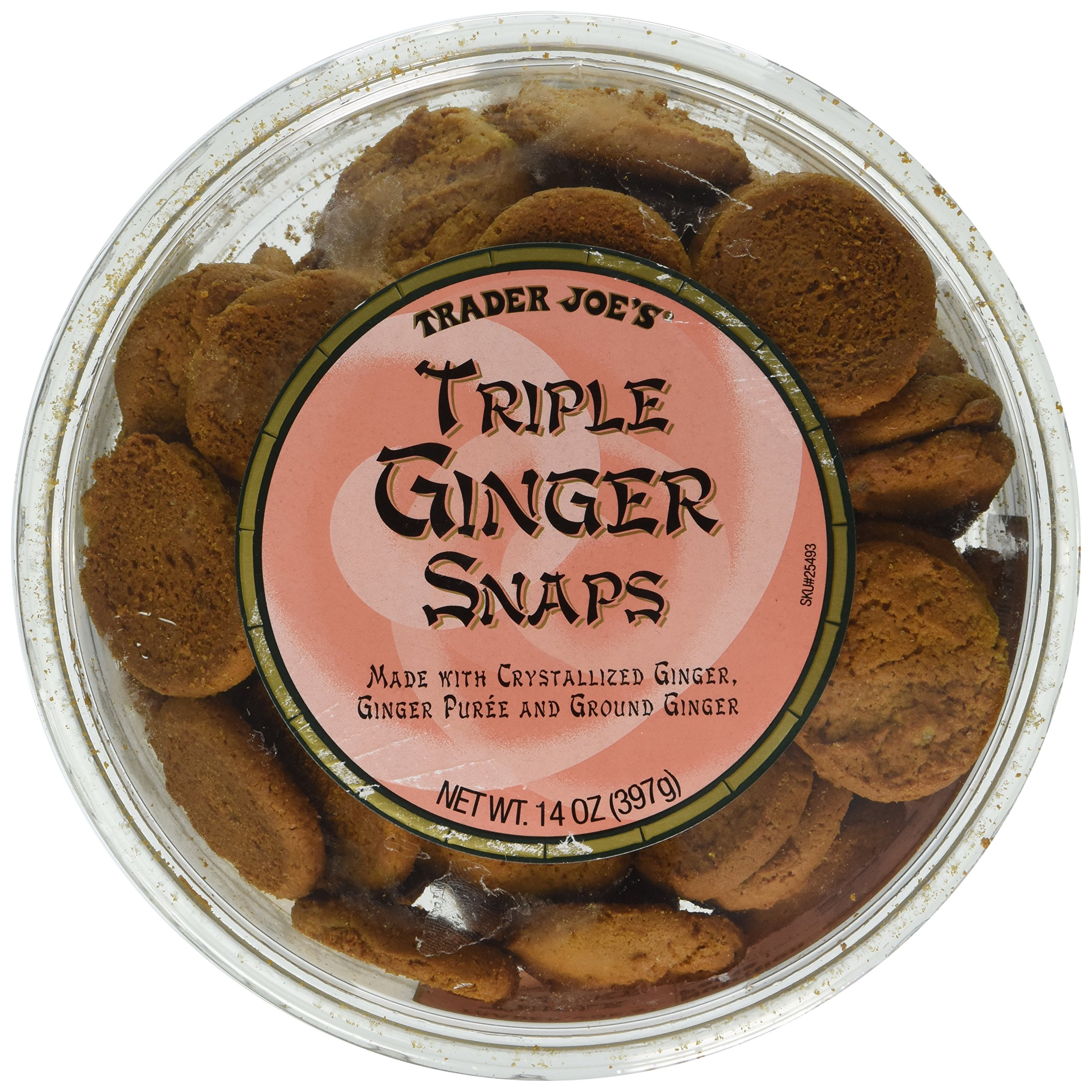 Trader Joe's Triple Ginger Snap cookies 14oz (2pk) by Trader Joe's