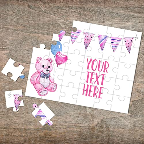 Personalized Puzzle Custom Puzzle CYOP0256 Wedding Announcement Announcement Ideas Pregnancy Announcement Create Your Own Puzzle