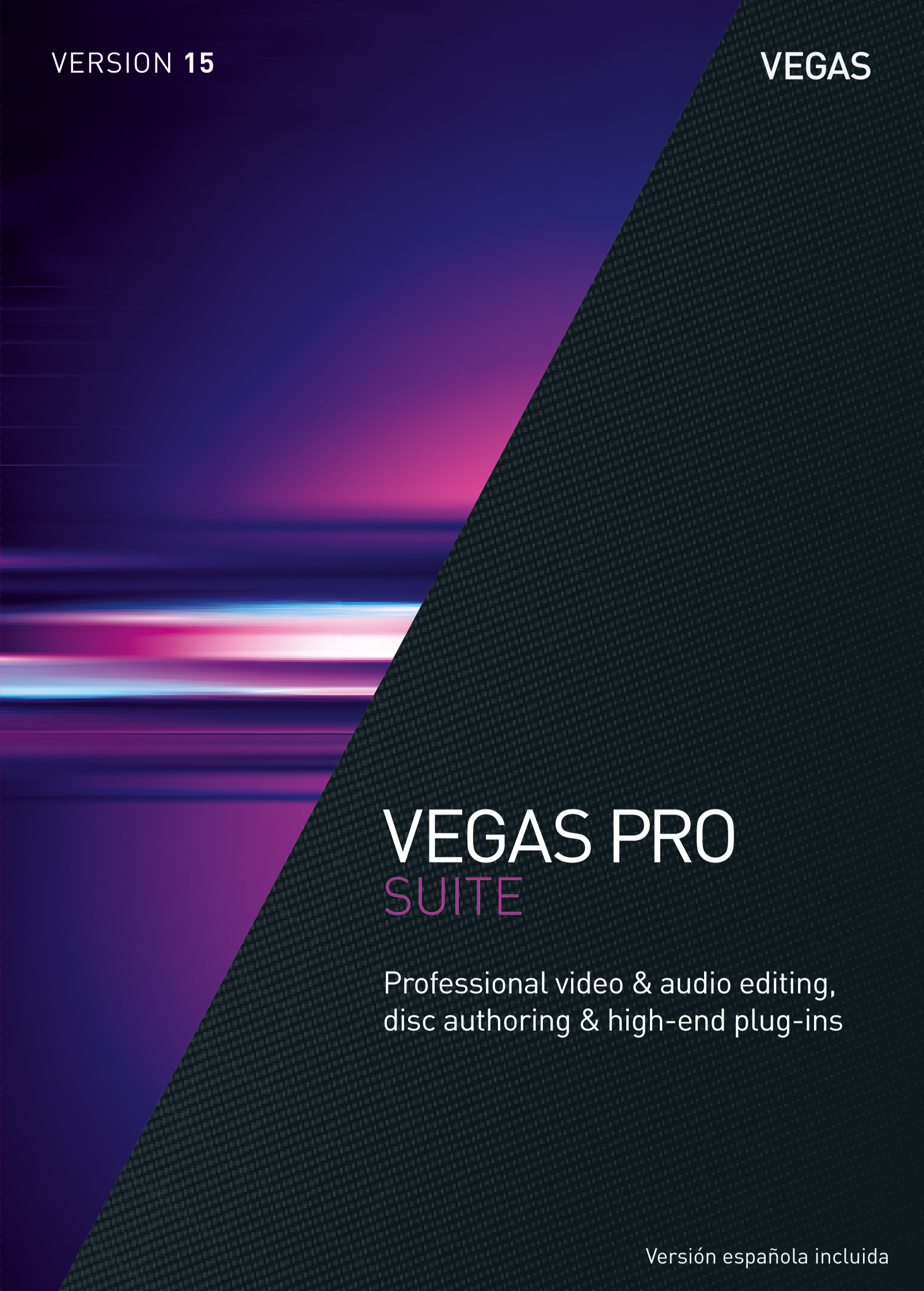 VEGAS Pro 15 Suite - Professional video & audio editing, disc authoring & high-end plug-ins [Download] by VEGAS