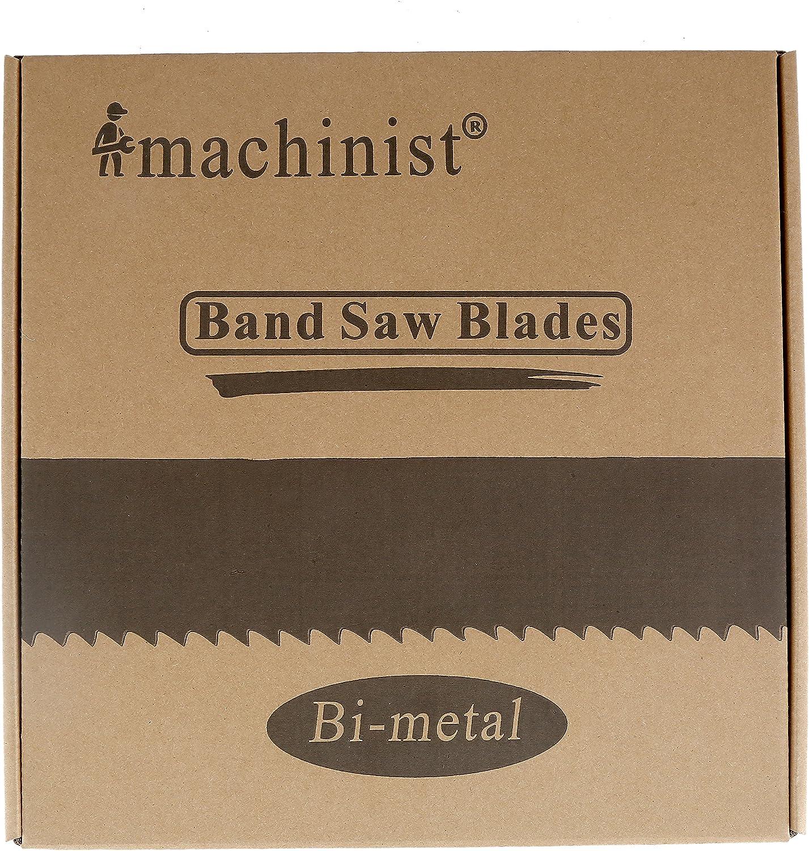 "115 1//2/"" 9/'-7 1//2/"" x 3//4/"" x .035/"" x 8//12N Band Saw Blade M42 Bi-metal 1 Pcs"