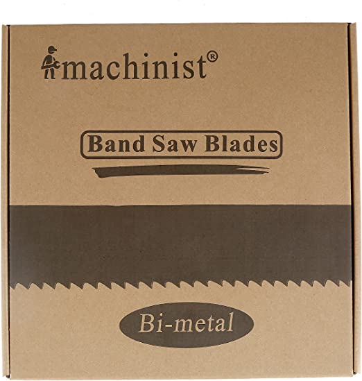 "2 Pieces 93-1//2/"" x 1//2/"" x 14tpi Imachinist Band Saw Blade Bi-metal M42 93.5/"""