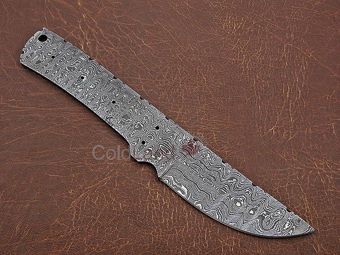 Amazon.com: Cuchilla de acero forjada a mano de Damasco ...